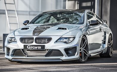 BMW M6 od G-Power: 1001 koní, maximálka 370 km/h a zastračujúci výzor, ktorým valcuje konkurenciu