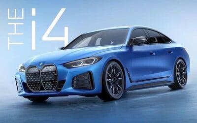 BMW neustrážilo svoj nový športový elektromobil i4 M50 s výkonom 530 koní