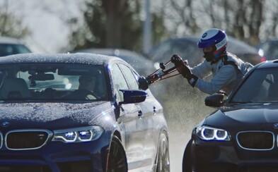 BMW okázalým způsobem stanovilo nový světový rekord v nepřetržitém driftování