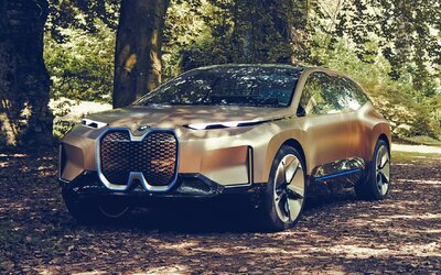BMW představilo koncept futuristického autonomního crossoveru s elektrickým pohonem