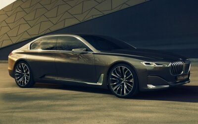 BMW Vision Future Luxury: Predzvesť radu 9?!