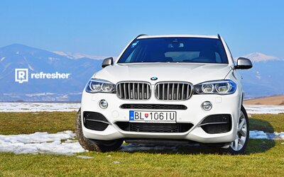 BMW X5 M50d: 3. generace, 3 litry a 3 turba! (Test)