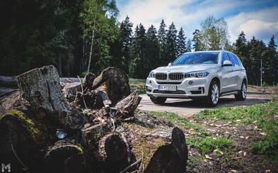 BMW X5 xDrive40e: Hybridný uhol pohľadu (Test)