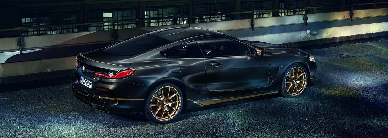 BMW z luxusnej 8-čky spravilo zberateľský kúsok so zlatými detailmi