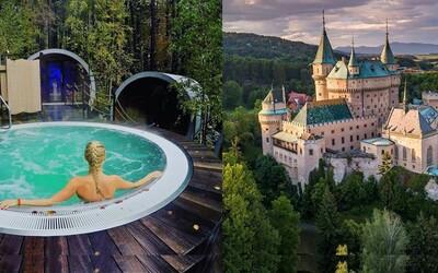Bobria hrádza, Bojnický zámok či wellness v prírode. Navštív tie najromantickejšie miesta na Slovensku