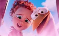 Bociany s donáškovou službou detí sú tu s novou ukážkou, ktorá vám vyčarí úsmev na tvári