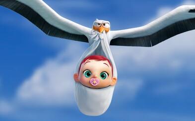 Bociany to majú s deťmi ťažké aj v novom vtipnom traileri pre ich dobrodružný animák
