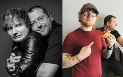 Bodyguard Eda Sheerana má vtipnejší Instagram ako samotný spevák. Neustále si zo svojho hviezdneho zverenca uťahuje
