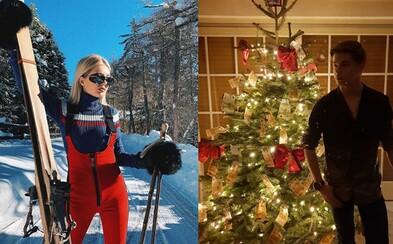 Bohaté detičky z Instagramu si vychutnali luxusné Vianoce. Nechýbali bankovky na stromčeku ani súkromné lietadlá