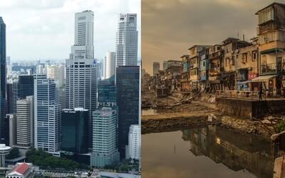 Bohatý sever versus chudý jih aneb proč je životní úroveň na rovníku nesrovnatelně nižší než ve sněhem zavátých zemích