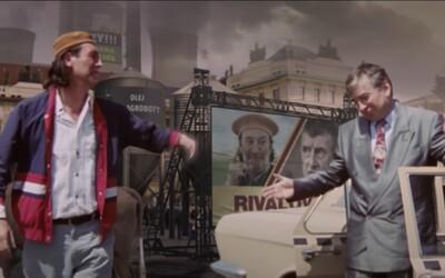 Bohuš z Dědictví a Arnold bojují v novém virálním videu s Andrejem Babišem v jeho postapokalyptickém agro-světě