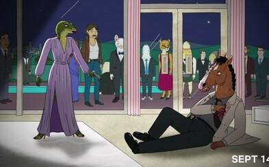 BoJack Horseman spôsobom jemu podobným oznámil dátum vydania 5. série, navyše s lákavým obrázkom