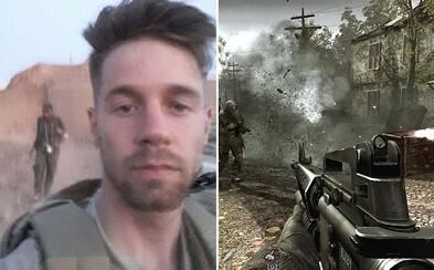 Bojoval jsem šest měsíců proti ISIS díky zručnostem z Call of Duty. John využil počítačovou hru k tomu, aby zastavil rozvoj terorismu
