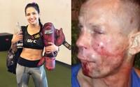 Bojovnici z UFC přepadl zloděj. Dobila ho tak, že prosil, aby zavolala policii