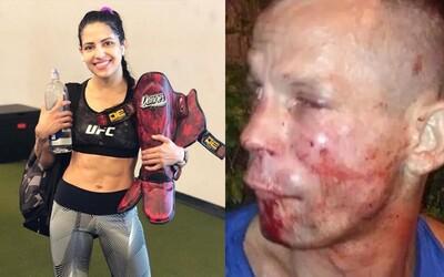 Bojovníčku z UFC prepadol zlodej. Domlátila ho tak, že žobral o to, aby zavolala policajtov