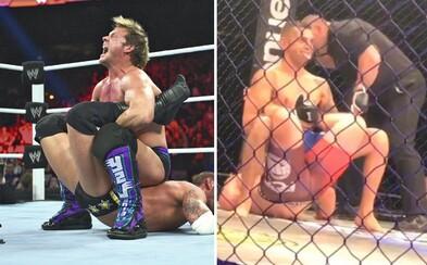 Bojovník použil legendárny wrestlingový chvat priamo v zápase MMA. Walls of Jericho zafungovalo okamžite