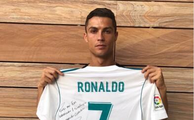 Bol si môj najlepší fanúšik. Ronaldo poslal odkaz mexickej rodine, ktorá prišla o svojho chlapca počas zemetrasenia