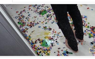 Bolestivá LEGO čelindž alebo nechal by si sa nahovoriť na ozajstné utrpenie?