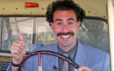 Borata 2 točili v tajnosti. Sacha Baron Cohen film už údajně i dokončil