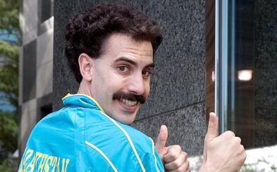 Boratem musel být 5 dní bez přestávky. Sacha Baron Cohen žil během karantény v domě konspirátorů téměř týden