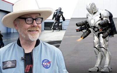 Bořič mýtů Adam Savage postavil funkční létající oblek Iron Mana