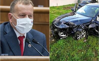 Boris Kollár má zlomený krčný stavec, zotavovať sa bude týždne