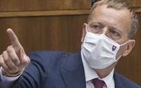 Boris Kollár plánuje vykázať kotlebovcov zo sály, ak prídu nasledujúci deň bez rúšok. Hrozí im aj pokuta od hygienikov