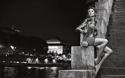 Bosá Gisele Bündchen v Paríži žiari v novej kampani Chanel