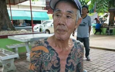 Boss japonské mafie byl na útěku 15 let. Stačila jediná fotka jeho tetování, aby si pro něj přišla policie
