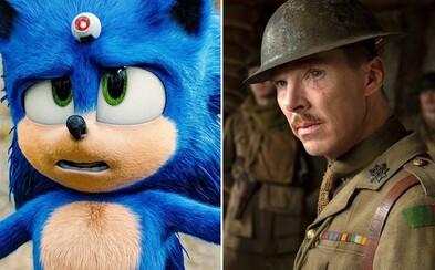 Box Office: Po Oscaroch zarábajú 1917 aj Parazit. Ježko Sonic má najlepší otvárací víkend v histórii filmov podľa hier