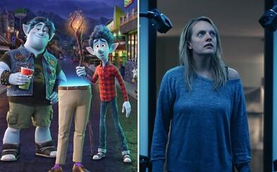 Box Office: Vpred od Pixaru a Neviditeľný muž ovládli kiná. Tržby pre hrozbu koronavírusu ďalej klesajú