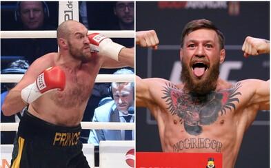 Boxerská hvězda Tyson Fury chce bojovat v MMA. Trénovat ho má Conor McGregor