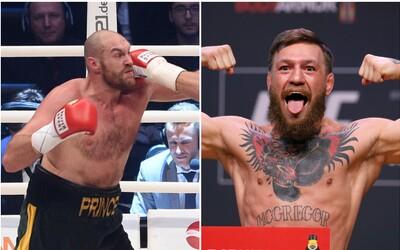 Boxerská hviezda Tyson Fury chce bojovať v MMA. Trénovať ho má Conor McGregor