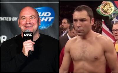 Boxerský šampión vyzval šéfa UFC Danu Whitea na zápas. Vzájomné spory sa v poslednej dobe vyhrotili