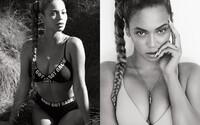 Božská Beyoncé vypadá ve spodním prádle skvěle. Ve vodě si zapózovala pro magazín Flaunt