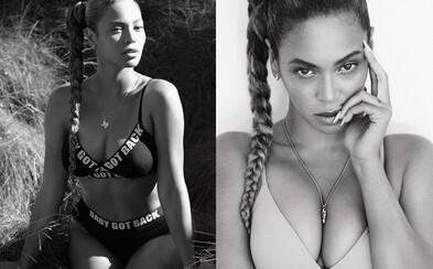 Božská Beyoncé vyzerá v spodnom prádle vynikajúco. Vo vode si zapózovala pre magazín Flaunt