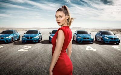 Božská Gigi Hadid si pro vás připravila hádanku v reklamě na BMW M2