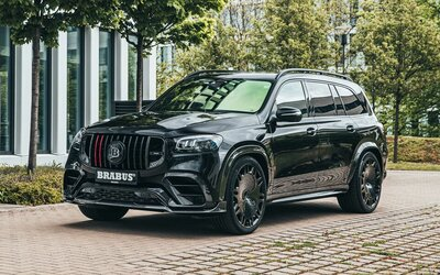 Brabus odhalil ďalší extrémny výtvor. 7-miestne GLS je po novom 800-koňové super-SUV