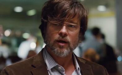 Brad Pitt a Christian Bale ti ukážu, ako zbohatnúť na hlúposti Američanov