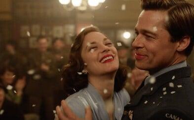 Brad Pitt a Marion Cottilard bojujú nielen proti nacistom, ale možno aj proti sebe (Recenzia)