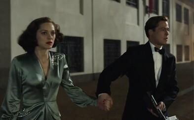 Brad Pitt a Marion Cottilard chcú zavraždiť nacistického úradníka v traileri pripomínajúcom Nehanebných bastardov