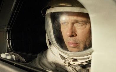 Brad Pitt musí bojovať s nástrahami vo vesmíre a zachrániť svojho strateného otca