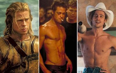 Brad Pitt: Od vodiča striptérov a status sexsymbola až po nespočet lások a hereckú slávu bez Oscara