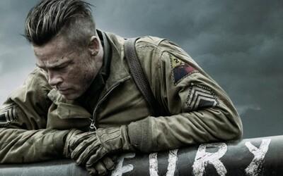 Brad Pitt v traileri pre vojnovú akciu Fury od režiséra Training Day