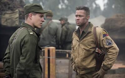 Brad Pitt zabíja náckov tankom vo vojnovej dráme Fury