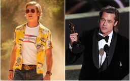 Brad Pitt získal prvního Oscara za herecký výkon! Akademie ocenila jeho roli ve filmu Tenkrát v Hollywoodu od Tarantina
