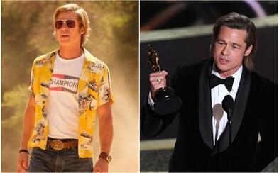 Brad Pitt získal Oscara. Akadémia ocenila jeho geniálnu rolu Cliffa Bootha vo filme Vtedy v Hollywoode od Tarantina