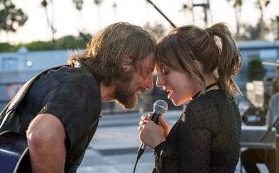 Bradley Cooper režíruje Lady Gagu a jej speváčku Ally. Zažite vzostup jej kariéry vo vynikajúco vyzerajúcej dráme A Star is Born