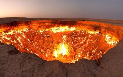 Brána do pekla v Turkmenistánu: Jak sovětské výpočty skončily kráterem hořícím již 44 let