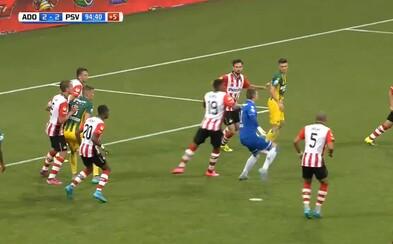 Brankár strelil gól, za ktorý by sa nemusel hanbiť ani Ibrahimović. Efektnou pätičkou vybojoval svojmu tímu bod za remízu